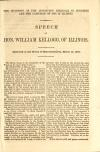Image: The incidents of the Lecompton struggle in Congress and the campaign of 1858 in Illinois : Speech of Hon. William Kellogg, of Illinois. Delivered in the House of Representatives, March 13, 1860.