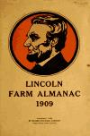 Image: Lincoln farm almanac, 1909.
