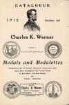 Image: Medals and medalettes : commemorative of various historical events that have taken place throughout the United States in fine silver, gilt and bronze for private collections.