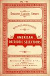 Image: American patriotic selections : famous state papers of Washington, Jefferson, and Lincoln : with historical introductions and critical notices /