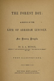 Image: The forest boy : a sketch of the life of Abraham Lincoln, for young people /