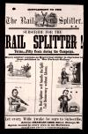 Image: The rail splitter.