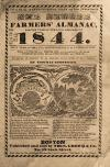 Image: The Yankee: Farmers' almanac, for the year of our Lord and Saviour 1844. : ... Fitted to five different meridians; and calculated for the whole United States, British provinces, and Texas. ... /