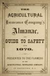 Image: The Agricultural Insurance Company's almanac, and guide to safety for 1878 /