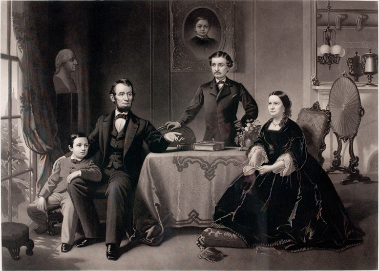 Lincoln And His Family 0503 The Lincoln Financial