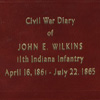 Image: Civil War Diary of John E. Wilkins