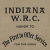 "Image: Indiana W.R.C. Ribbon ""The First to Offer Service"" Ribbon"