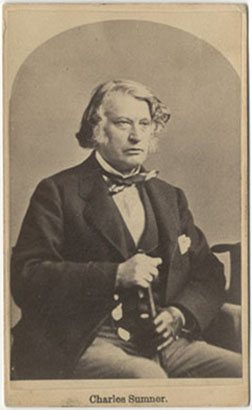 Senator Charles Sumner | The Lincoln Financial Foundation ...