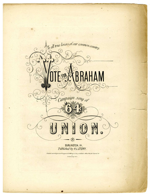 Image: Vote for Abraham