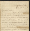 Image: Letter Written by Albert Daggett