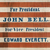 Image: Bell and Everett campaign flag