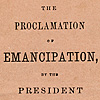 Image: The Proclamation of Emancipation, by the President of the United States, to take effect on January 1st, 1863